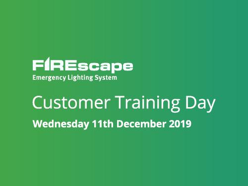 FIREscape Customer Training - 11th December